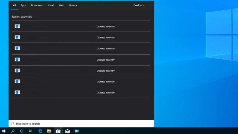 Algunos Insiders ya pueden ver a Cortana y las búsquedas de Windows 10 separadas