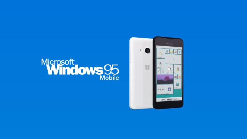 Existió una versión Mobile de Windows 95, aunque parezca mentira
