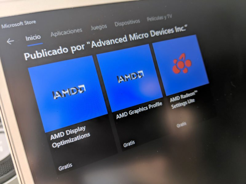 AMD en Windows 10