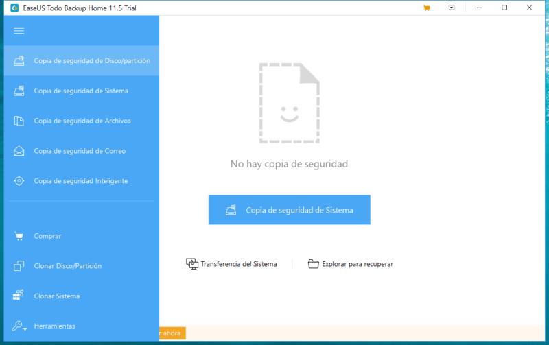 EaseUS Todo Backup Home, el compañero ideal para realizar copias de seguridad