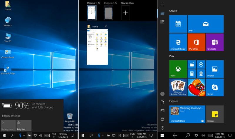 Este sería el demo (casi) definitivo de Windows 10 ARM64 en un Lumia 950 XL