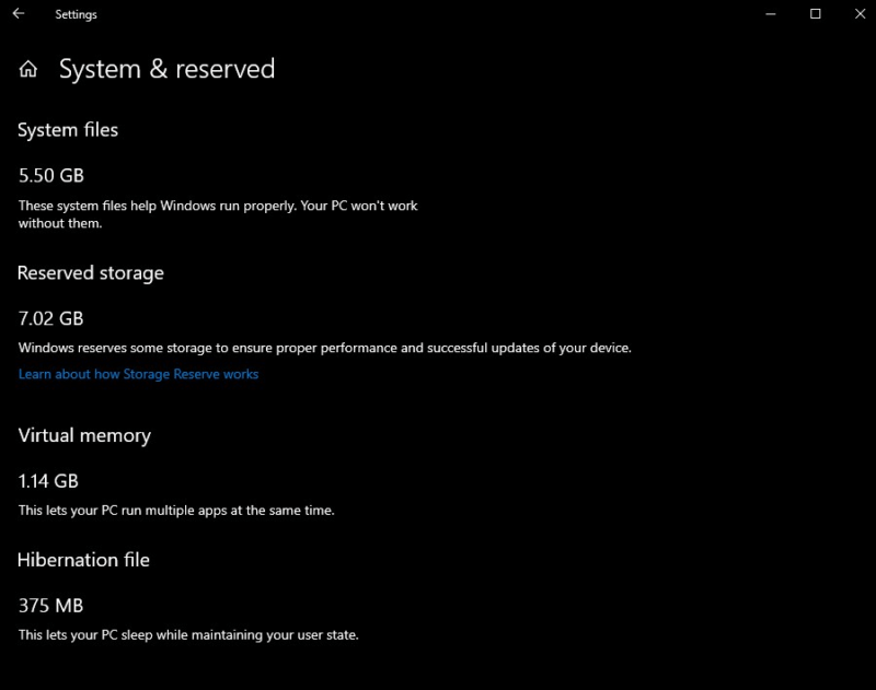 """Build 18312 (19H1) para el anillo rápido añade la """"reserva de espacio"""" para actualizar"""