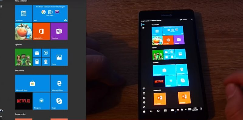 Windows 10 ARM en un Lumia 950 XL