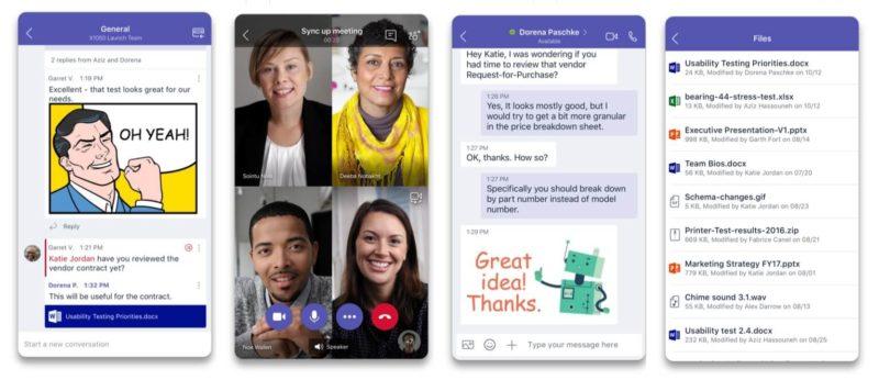 Microsoft Teams se actualiza en Android e iOS