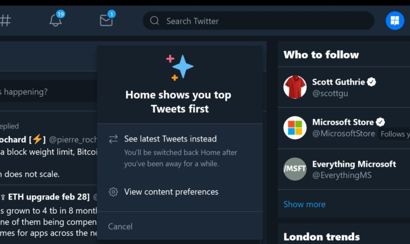 Twitter actualiza su PWA con  un interesante añadido