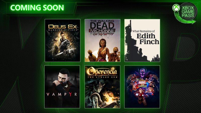 Deus Ex: Mankind Divided y otros juegos se añaden a Xbox Game Pass