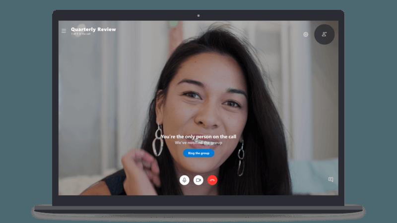 Skype amplia las llamadas grupales a 50 personas