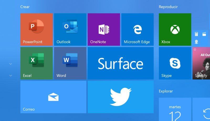 Los nuevos iconos de Office llegan a Windows 10