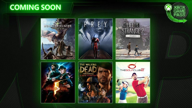 Monster Hunter: World y Prey, entre los añadidos a Game Pass en Abril