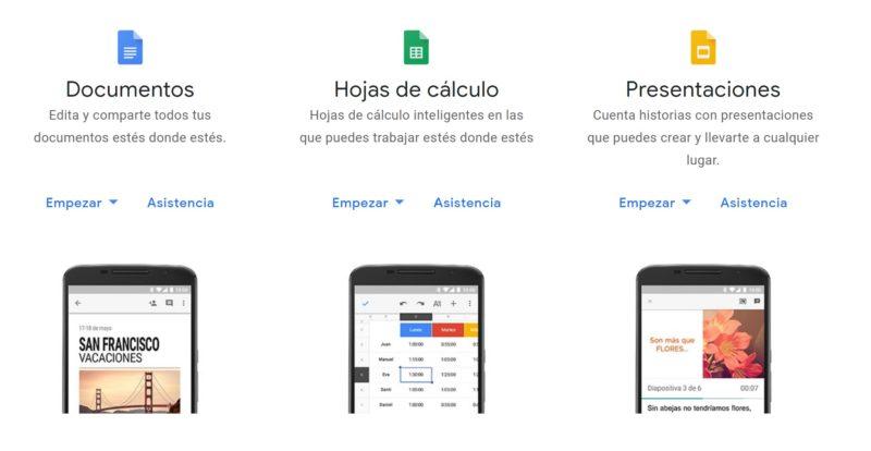 Google ya cuenta con soporte nativo para archivos Word, Excel y PowerPoint
