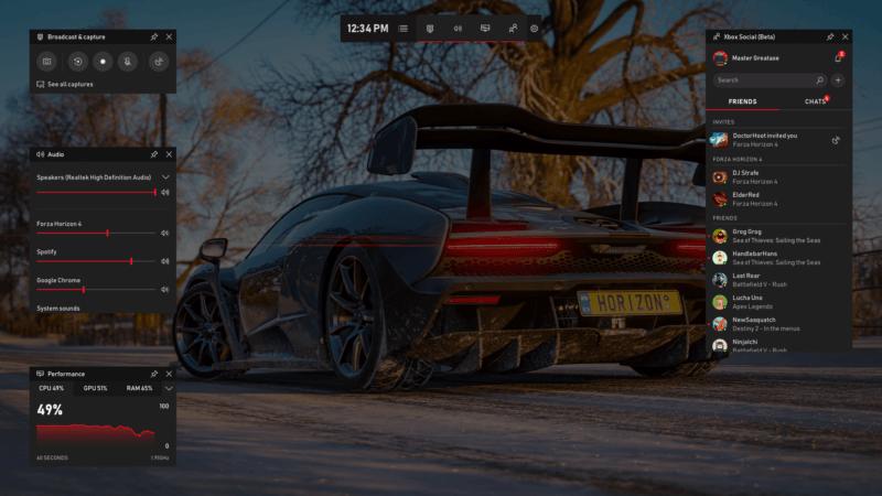 La barra de juegos de Windows 10 contará con soporte para Spotify, creación de memes y más