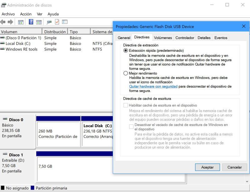 Ya podrás sacar tu USB en Windows 10 sin tener que expulsarlo