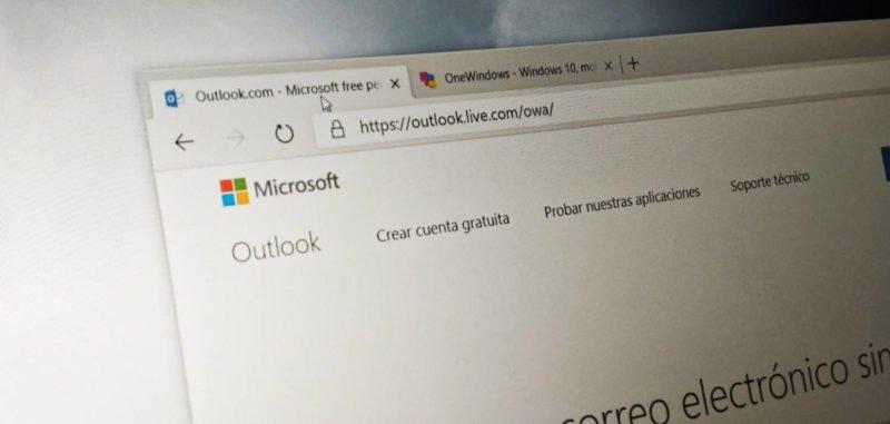 cuentas de Outlook