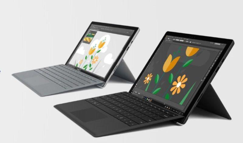 El Surface Pro 7 se lanzaría en cinco versiones, incluyendo una muy ajustada