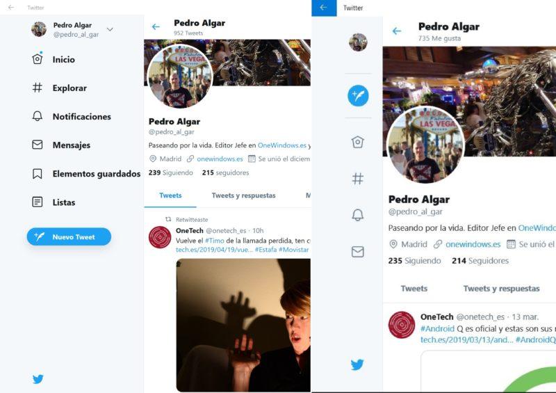 Twitter actualiza su PWA con nuevos accesos directos