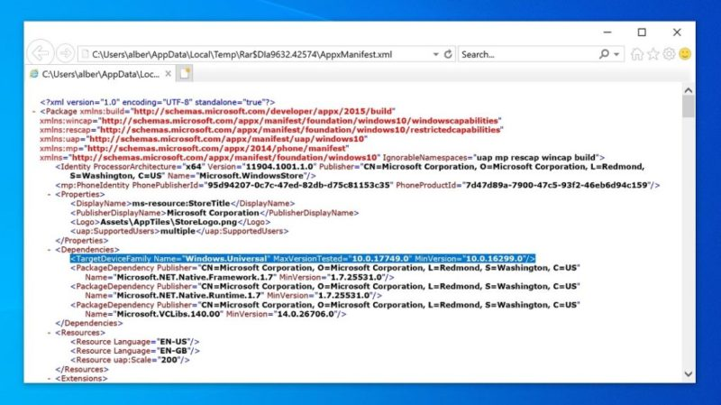 La nueva versión de Microsoft Store no soporta Windows 10 Mobile