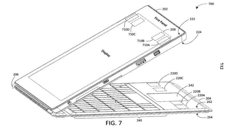 Microsoft presenta una patente con un nuevo diseño para Surface
