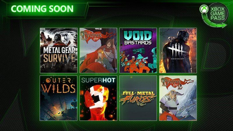 Xbox Game Pass une ocho nuevos juegos a su catalogo
