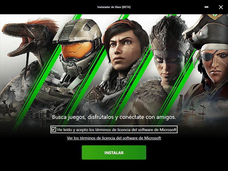 La App beta de Juegos para PC de Xbox Game Pass ya se puede instalar