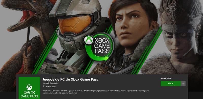 Juegos de PC de Xbox Game Pass