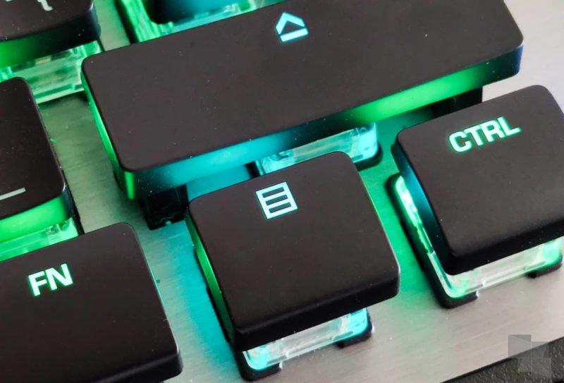 Despídete del botón de menú de tu teclado, Microsoft piensa sustituirlo