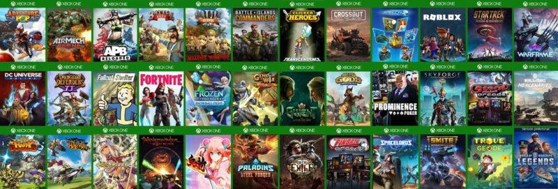 Juegos Free2Play, la opción más económica para Xbox