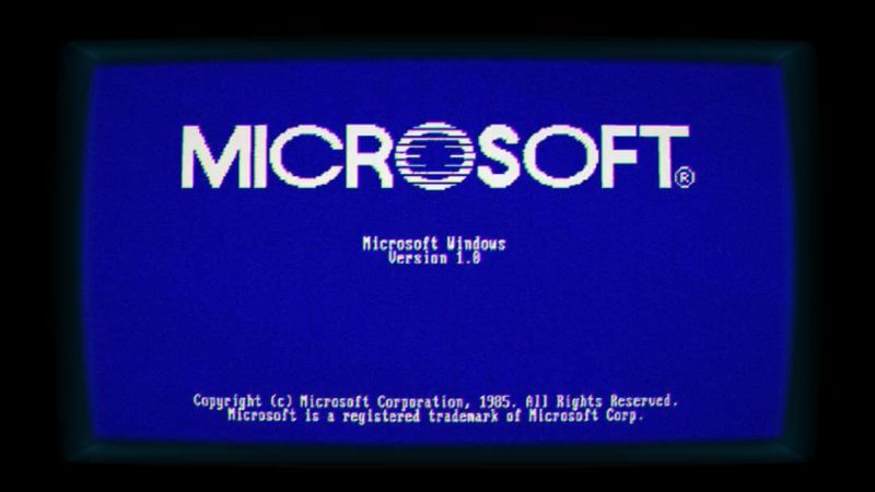 Microsoft lanza Windows 1.11 en la tienda celebrando la tercera entrega de Stranger Things