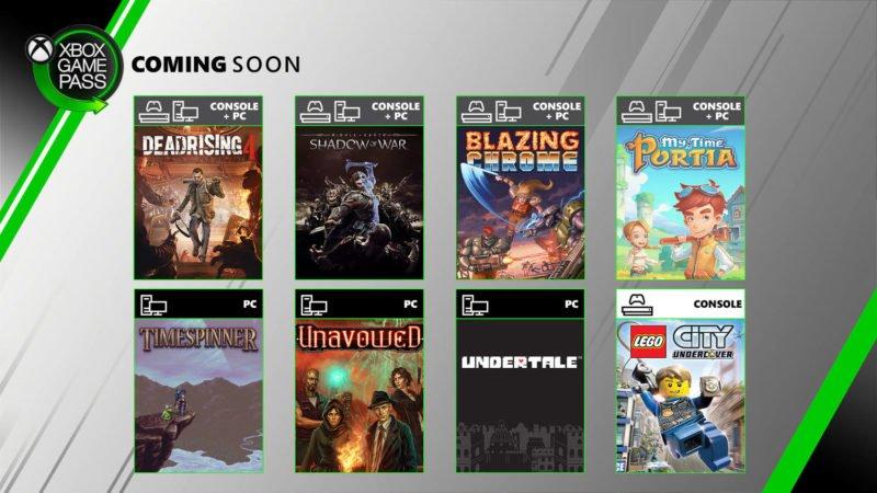 Ocho nuevos juegos se unen a Xbox Game Pass en estos días