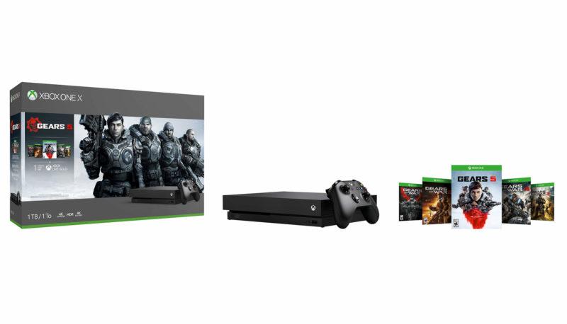 Xbox lanza ediciones limitadas de sus consolas dedicadas a Gears 5
