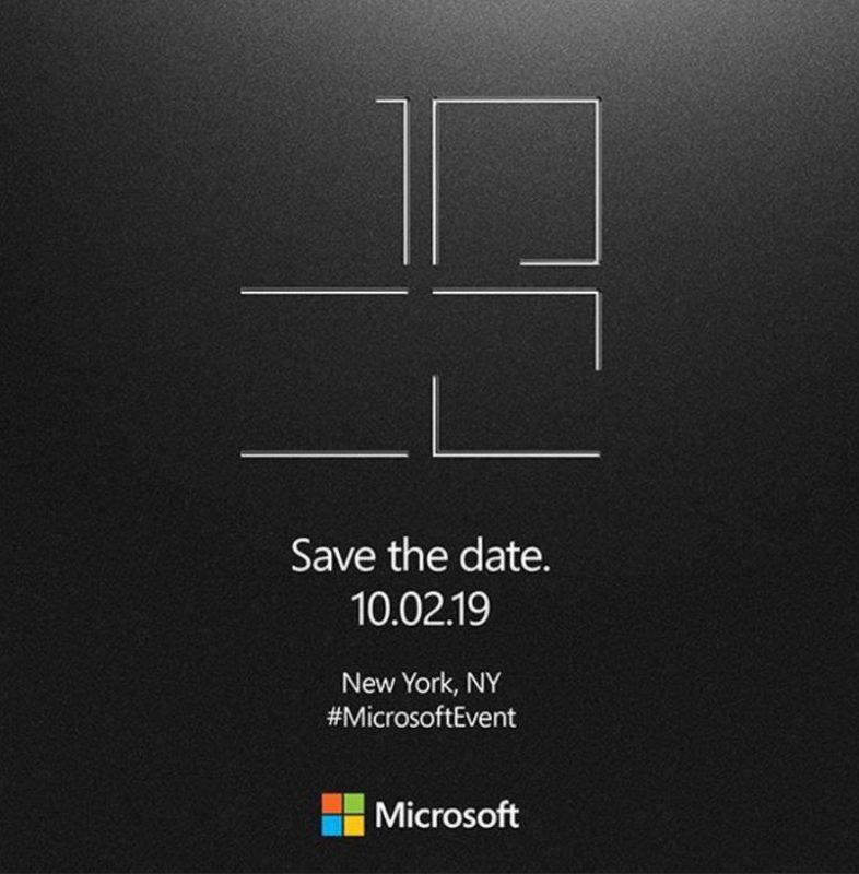 Microsoft anuncia un evento para el 2 de octubre dedicado al Hardware