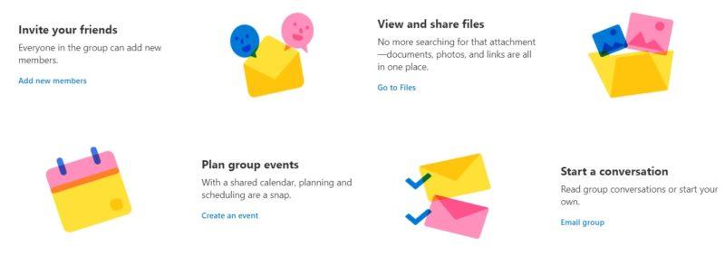 Los grupos llegan a Outlook.com y son un gran añadido