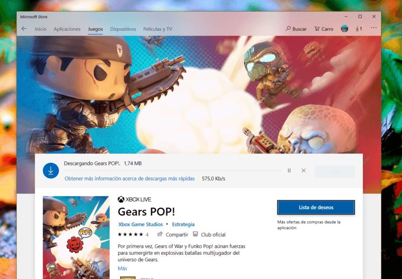 Gears Pop! ya disponible para Windows 10
