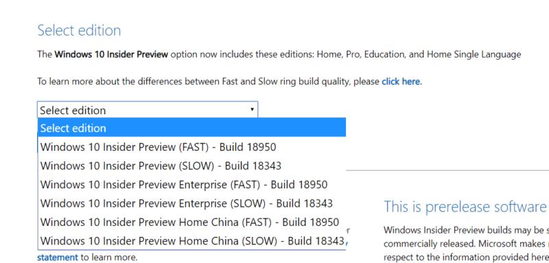 Ya puedes descargar la ISO de la Build 18950 de Windows 10