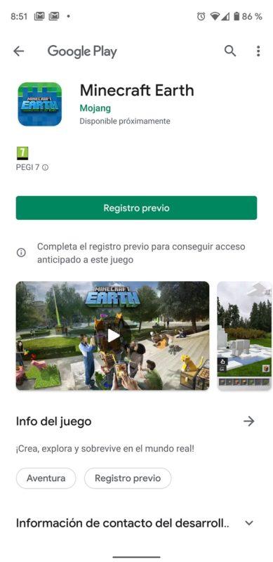 La beta de Minecraft Earth se lanzará en Octubre [Actualizado]