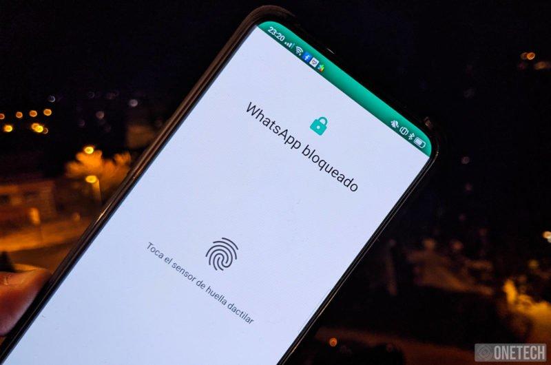 WhatsApp ya se puede bloquear con la huella. Te explicamos como hacerlo.