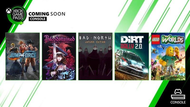 Nuevos juegos llegarán a Xbox Game Pass muy pronto