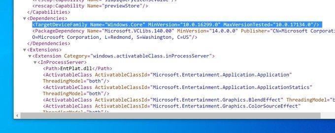 Estas serían las primeras aplicaciones compatibles para Windows Core