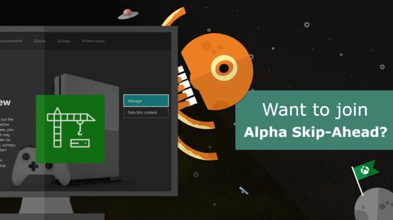 El acceso al anillo Alpha-Skip Ahead de Xbox abierto por tiempo limitado