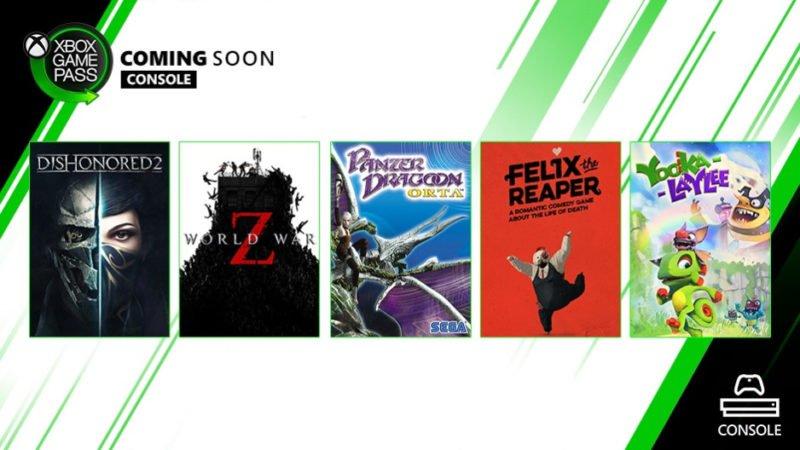 Seis nuevos juegos llegan a Xbox Game Pass para Consola