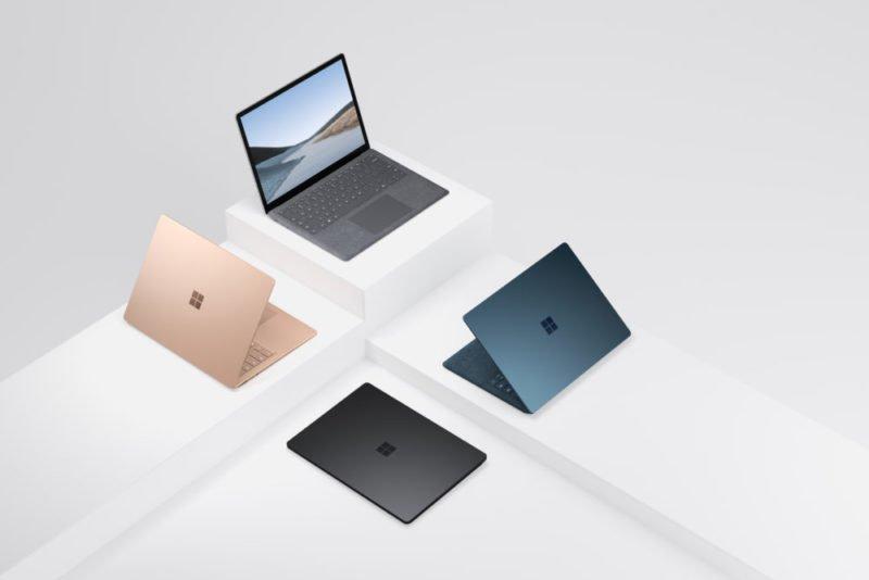Surface Laptop 3, dos tamaños y opciones AMD a escoger