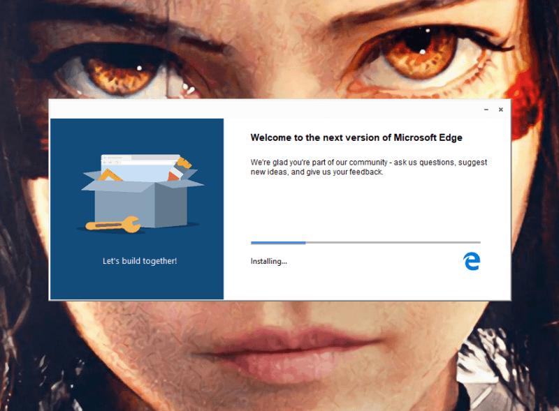 El nuevo Microsoft Edge está cerca de su lanzamiento
