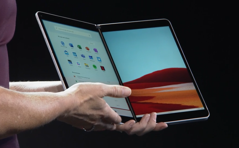 Surface Neo con Windows 10X