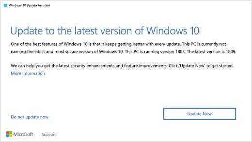 """Los usuarios de Windows 10 """"antiguos"""" recibirán una notificación para que actualicen"""