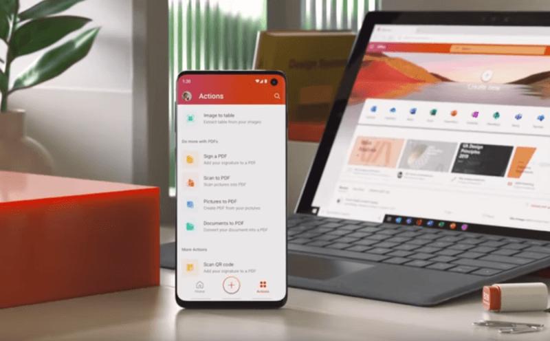 La nueva app de Office se anuncia para iOS y Android