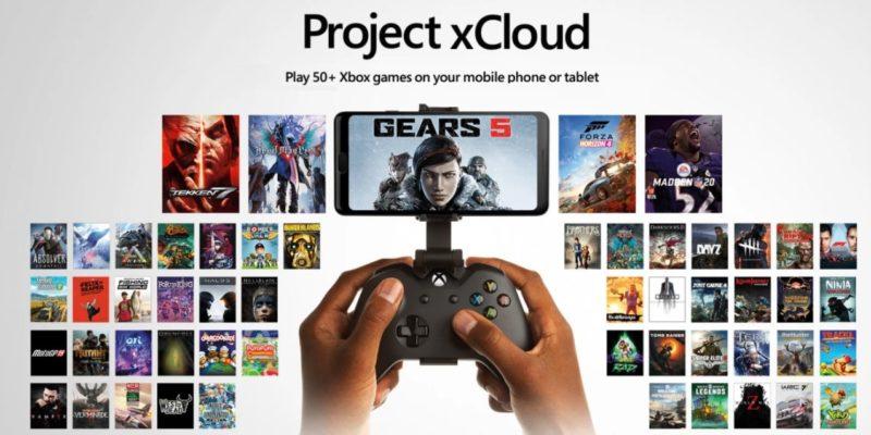 Project xCloud, el X019 nos deja más detalles y más de 50 nuevos juegos