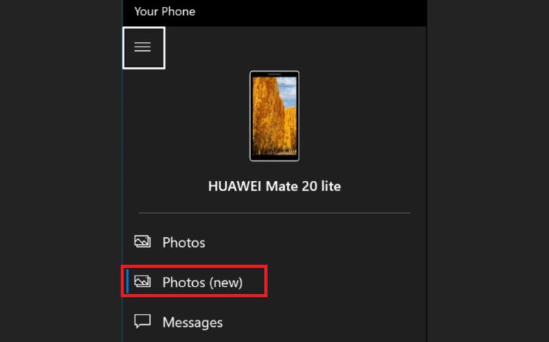 Tu Teléfono está probando una nueva galería para las fotos