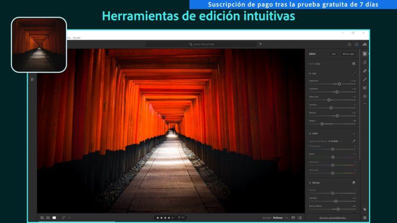 Adobe Lightroom ya se puede descargar desde la Tienda de Windows 10