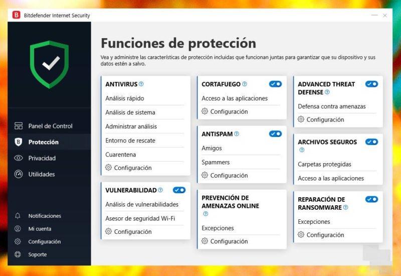 Bitdefender Internet Security 2020: protégete mientras navegas