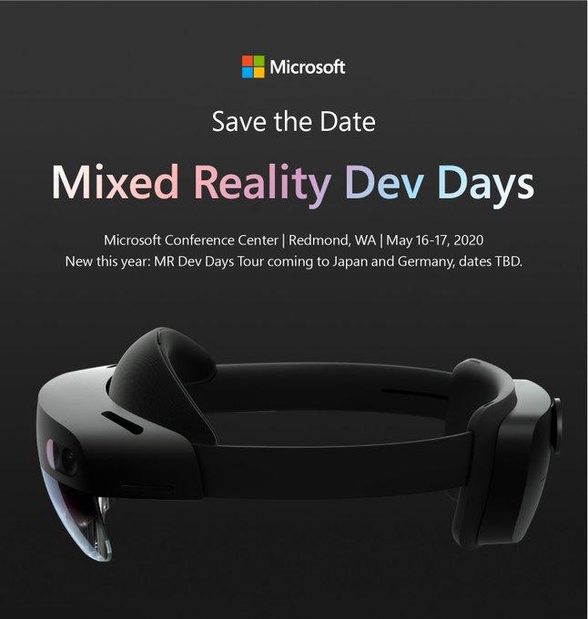 Microsoft anuncia un evento de Realidad Mixta para desarrolladores