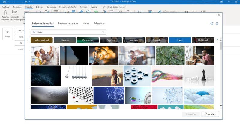 Microsoft ofrece 8.000 imágenes para usar en Office